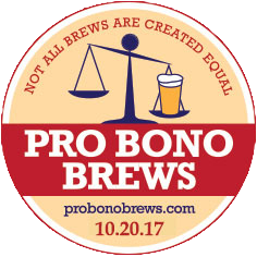 Pro Bono Brews transparent logo