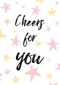 cheers-you-vector-card-illustration-light-yellow-background-birthday-banner-label-poster-print-decorated-pink-hand-drawn-stars-117802466